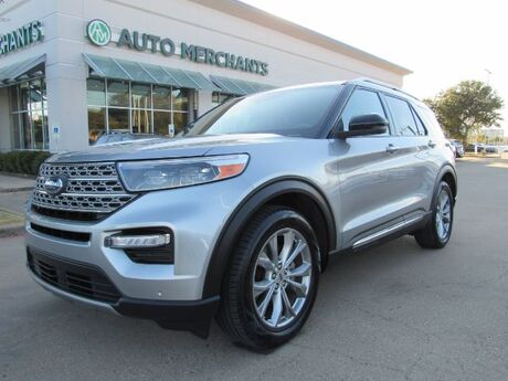 2020 Ford Explorer Limited 3RD ROW, APPLE CAR PLAY LANE ASSIST BLIND SPOT WIRELESS CHARGING MEMORY SEATS BACKUP CAM Plano TX