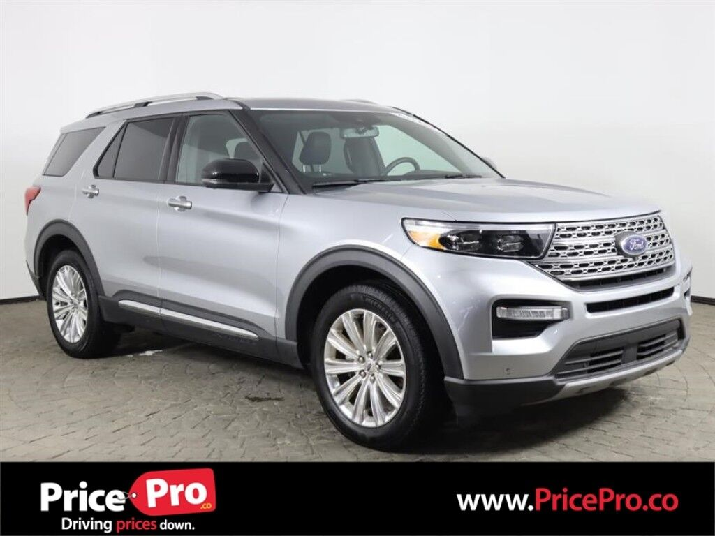 2020 Ford Explorer Limited 4x4 Ecoboost w/Nav/Sunroof/Adaptive Cruise Maumee OH