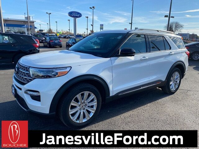 2020 Ford Explorer Limited Janesville WI