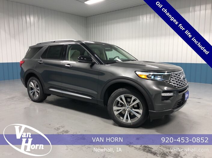 2020 Ford Explorer Platinum Plymouth WI
