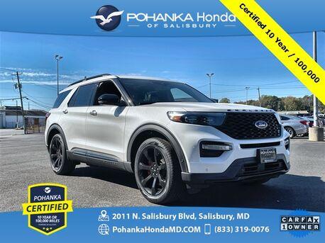 2020_Ford_Explorer_ST 4WD ** Pohanka Certified 10 Year / 100,000**_ Salisbury MD