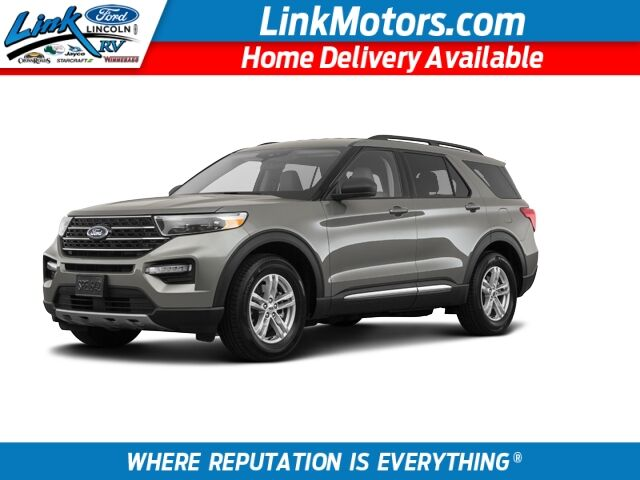 New 2020 Ford Explorer Xlt In Minong Wi