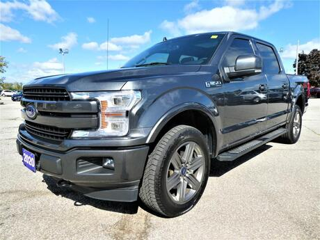 2020 Ford F-150 LARIAT 5.0L   Blind Spot   Navigation   Panoramic Roof Essex ON