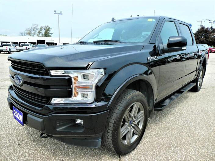 2020 Ford F-150 LARIAT 5.0L | Panoramic Roof | Navigation | Cooled Seats Essex ON