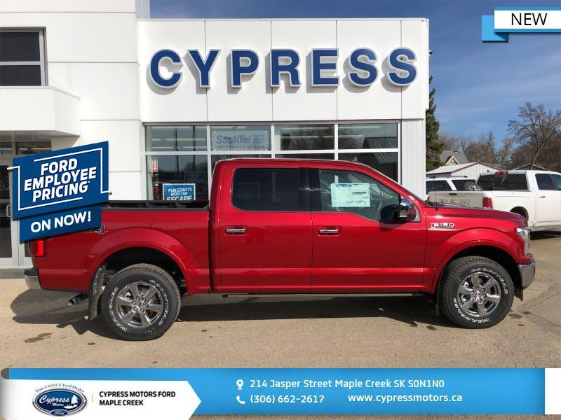 2020 Ford F-150 Lariat  - $428 B/W Maple Creek SK
