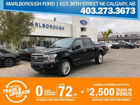 2020_Ford_F-150_Limited  - Leather Seats -  Leather Trim_ Calgary AB