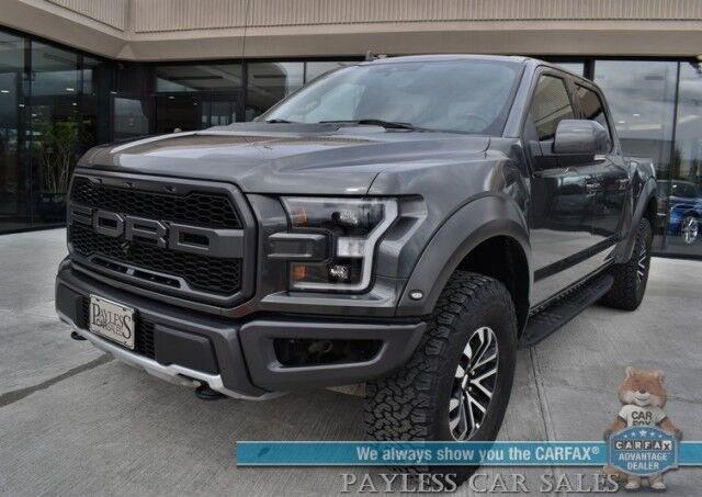 2020 Ford F-150 Raptor / 4X4 / Carbon Fiber Pkg / Auto Start / Heated & Cooled Seats / B&O Speakers / Navigation / Sunroof / Adaptive Cruise / Lane Departure & Blind Spot / Bluetooth / 360 Camera / Tow Pkg / Only 12k Miles Anchorage AK