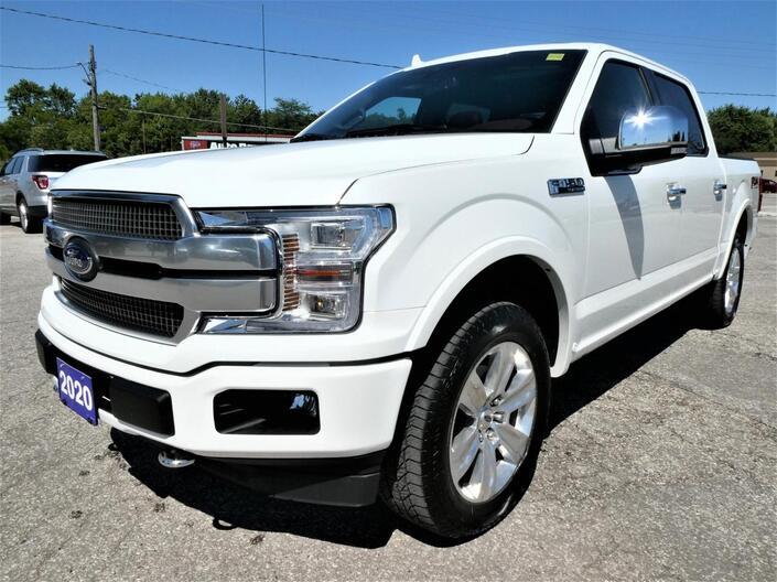 2020 Ford F-150 *SALE PENDING* Platinum 5.0L Massage Seats Panoramic Roof Navigation Essex ON
