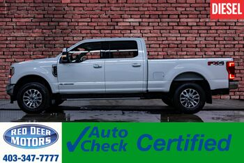 2020_Ford_F-350_4x4 Crew Cab Lariat Ultimate FX4 Diesel Leather Roof Nav_ Red Deer AB