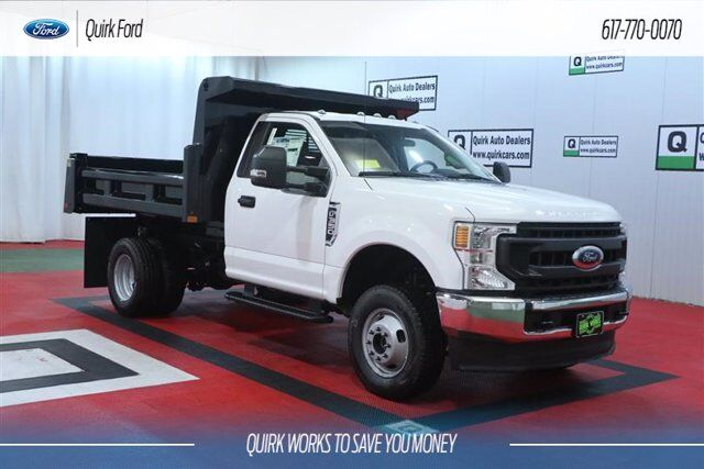 2020 Ford F-350 DRW XL 9' RUGBY 2-3 YARD DUMP BODY Quincy MA
