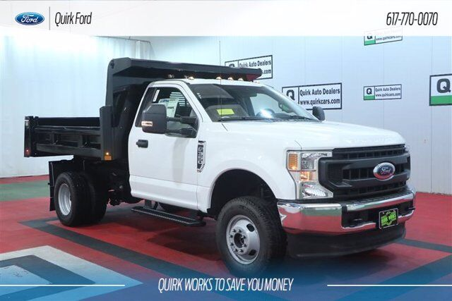 2020 Ford F-350 DRW XL 9' RUGBY DUMP BODY Quincy MA