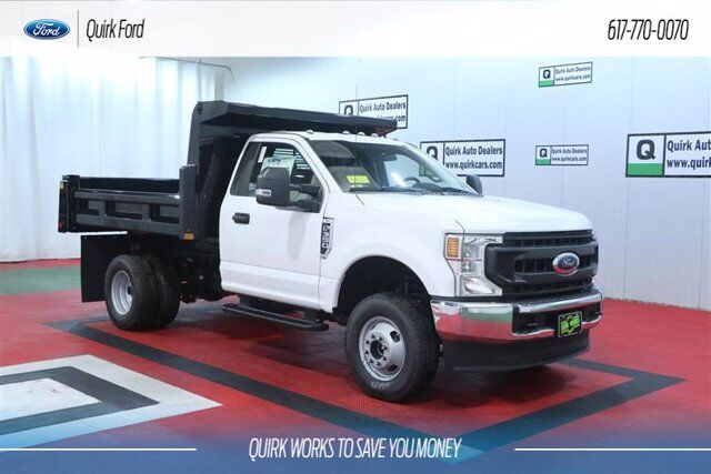 2020 Ford F-350 DRW XL RUGBY 9' 2-3 YARD ELIMINATOR LP DUMP BODY Quincy MA