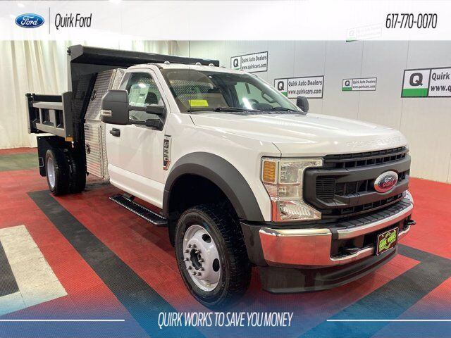 2020 Ford F-550 DRW XL RUGBY 9' 3-4 YARD ELIMINATOR LP DUMP BODY Quincy MA