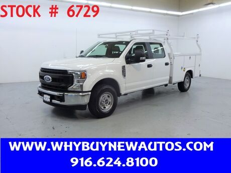 2020 Ford F250 Utility ~ Crew Cab ~ Only 5K Miles! Rocklin CA