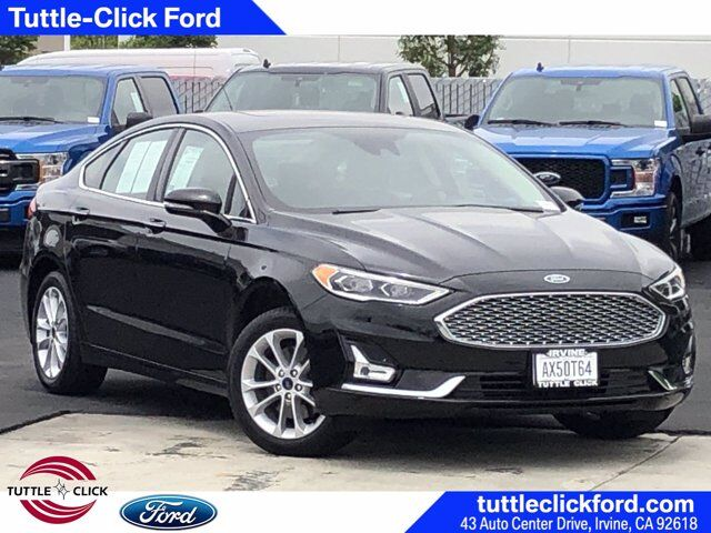 2020 Ford Fusion Energi Titanium Gas/Electric I-4 2.0 L/122