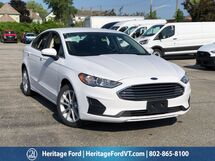2020 Ford Fusion Hybrid SE South Burlington VT