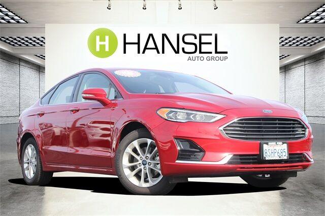 2020 Ford Fusion Hybrid SEL Santa Rosa CA