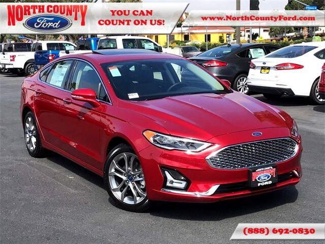 2020 Ford Fusion Hybrid Titanium San Diego County CA
