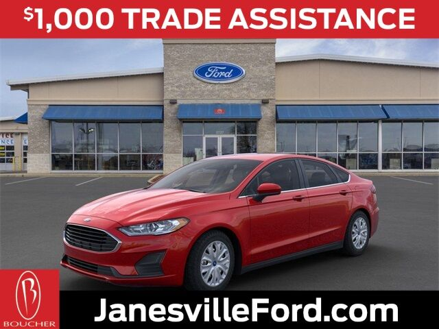 2020 Ford Fusion S Janesville WI