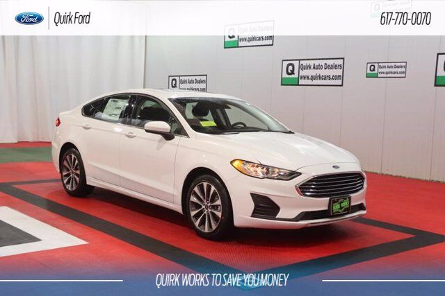 New 2020 Ford Fusion Se In Quincy Ma