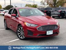 2020 Ford Fusion SE South Burlington VT