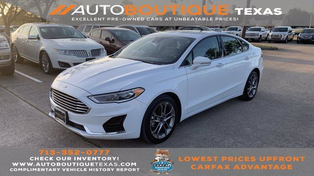 2020 Ford Fusion SEL Houston TX
