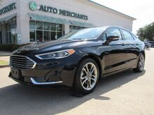 2020_Ford_Fusion_SEL  SUNROOF BACKUP CAM, BLIND SPOT, BLUETOOTH, KEYLESS START, DUAL ZONE CLIMATE, NAVI, LEATHER,_ Plano TX