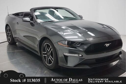 2020_Ford_Mustang_EcoBoost Convertible CAM,CLMT STS,PARK ASST_ Plano TX