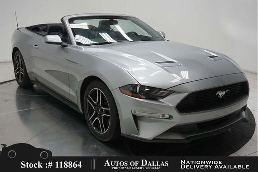 2020_Ford_Mustang_EcoBoost Premium Convertible CAM,CLMT STS_ Plano TX