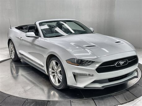 2020_Ford_Mustang_EcoBoost Premium Convertible NAV,CAM,CLMT STS_ Plano TX
