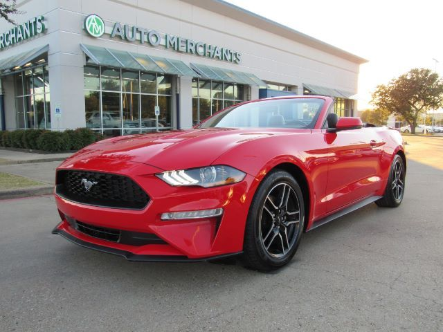 2020 Ford Mustang EcoBoost Premium Convertible Plano TX