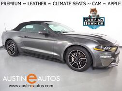 2020_Ford_Mustang EcoBoost Premium Coverti_*10-SPD AUTOMATIC, BACKUP-CAMERA, COLOR TOUCH SCREEN, LEATHER, CLIMATE SEATS, 18 INCH WHEELS, BLUETOOTH PHONE & AUDIO, APPLE CARPLAY_ Round Rock TX