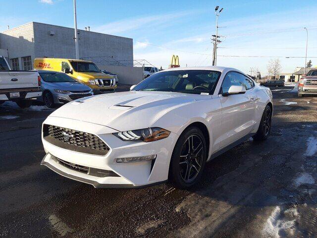 2020 Ford Mustang NAV   LEATHER   HEATED SEATS   HAIL SAVINGS!!! Calgary AB