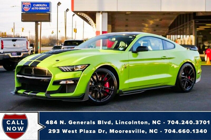 2020 Ford Mustang Shelby GT500 *LESS THAN 200 MILES* Mooresville NC