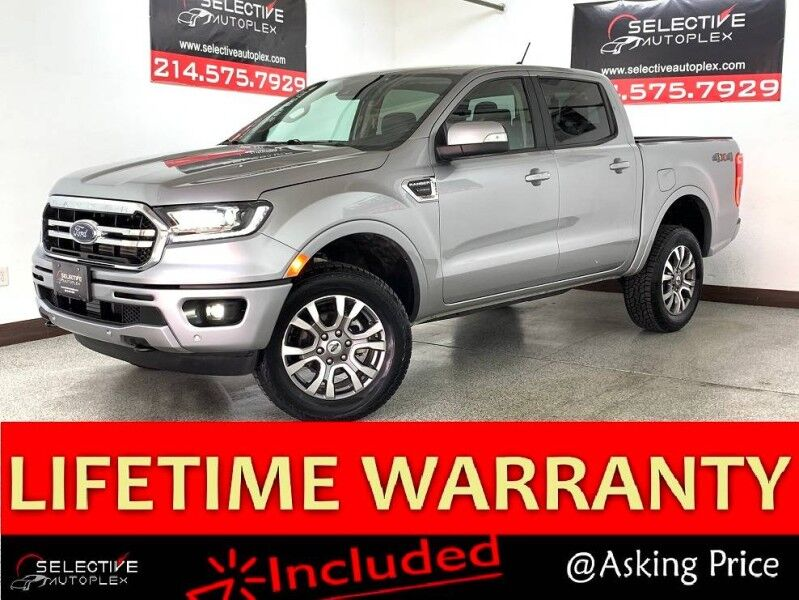 2020 Ford Ranger LARIAT, NAV, LEATHER SEATS, APPLE CARPLAY, REAR VIEW CAM