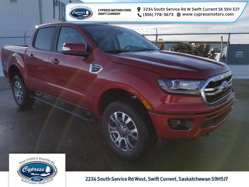 2020 Ford Ranger Lariat  - Leather Seats -  Heated Seats - $287 B/W Swift Current SK