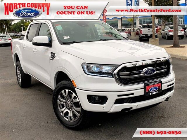 2020 Ford Ranger Lariat San Diego County CA