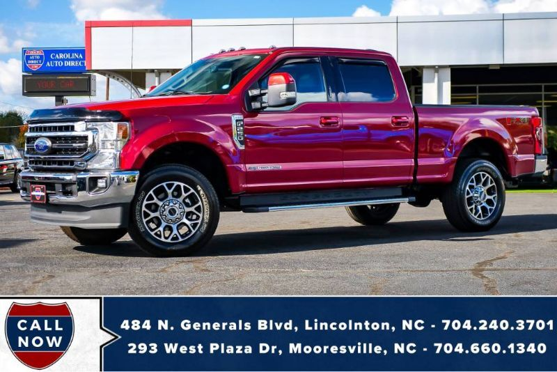 2020 Ford Super Duty F-250 LARIAT FX4 V8 Diesel w/ Heated & Vented Front Seats Mooresville NC