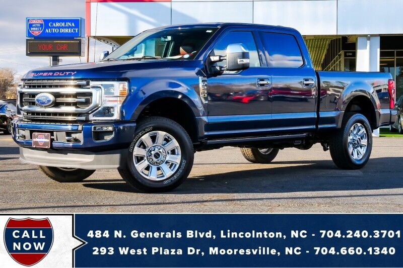 2020 Ford Super Duty F-250 Platinum FX4 *7.3L V8* w/ Power Running Boards Mooresville NC