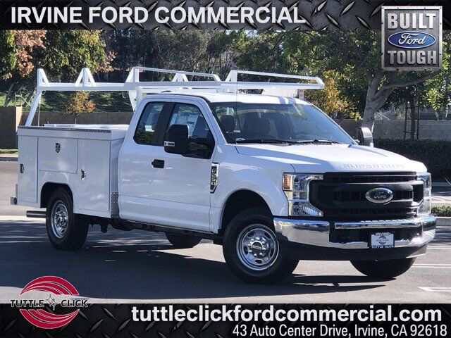 2020 Ford Super Duty F-250 SRW XL Scelzi 8' Utility Body w/ 3 Piece Roll Top Gas Irvine CA