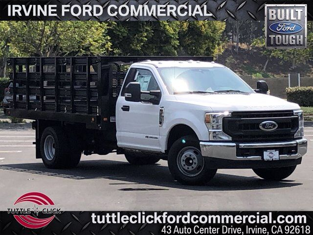 2020 Ford Super Duty F-350 DRW XL KUV 12' Stake Bed Diesel Irvine CA