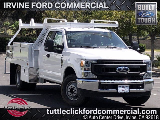 2020 Ford Super Duty F-350 DRW XL Scelzi 10' Contractor Body Gas Irvine CA