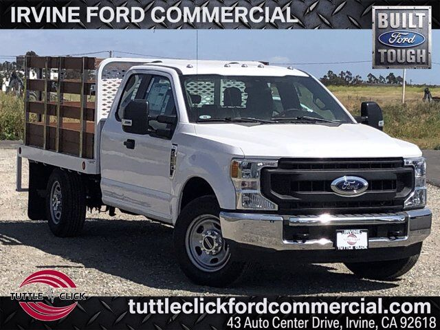 2020 Ford Super Duty F-350 SRW XL Scelzi 9' Stake Bed Gas Irvine CA