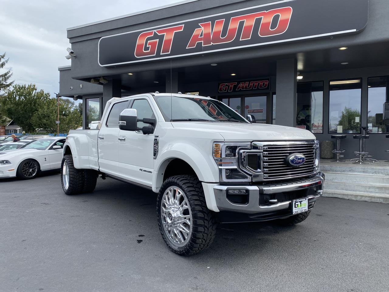 2020 Ford Super Duty F-450 DRW King Ranch Pickup 4D 8 ft Puyallup WA