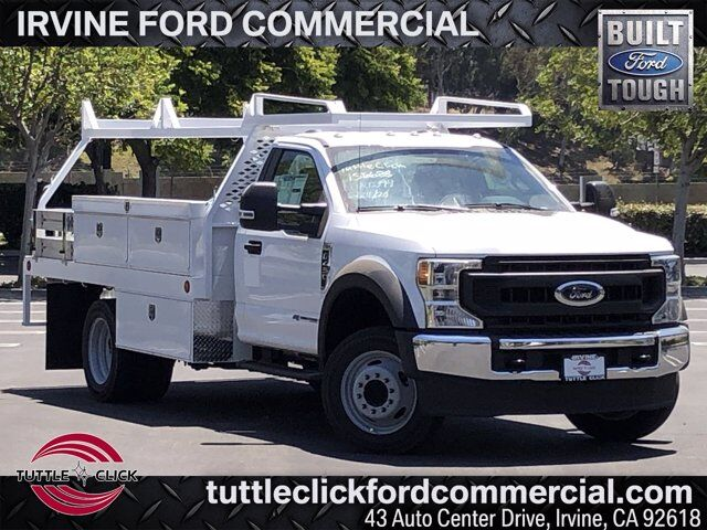 2020 Ford Super Duty F-450 DRW XL Scelzi 12' Contractor Body Diesel Irvine CA