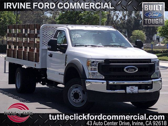 2020 Ford Super Duty F-450 DRW XL Scelzi 12' Stake Bed Diesel Irvine CA