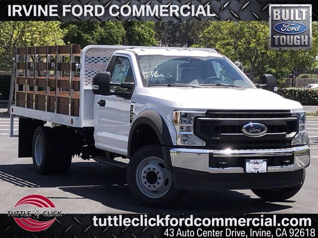 2020 Ford Super Duty F-450 DRW XL Scelzi 12' Stake Bed Gas Irvine CA