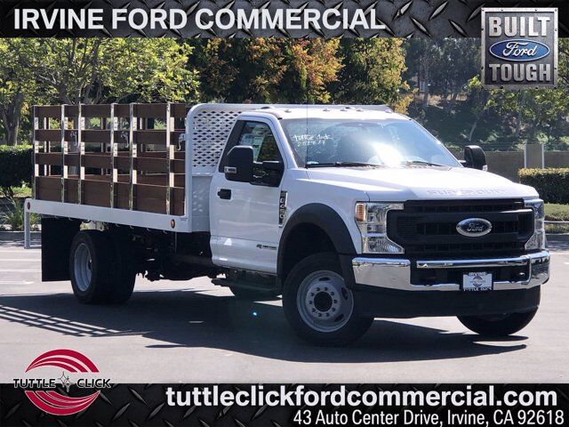 2020 Ford Super Duty F-450 DRW XL Scelzi 14' Stake Bed Diesel Irvine CA