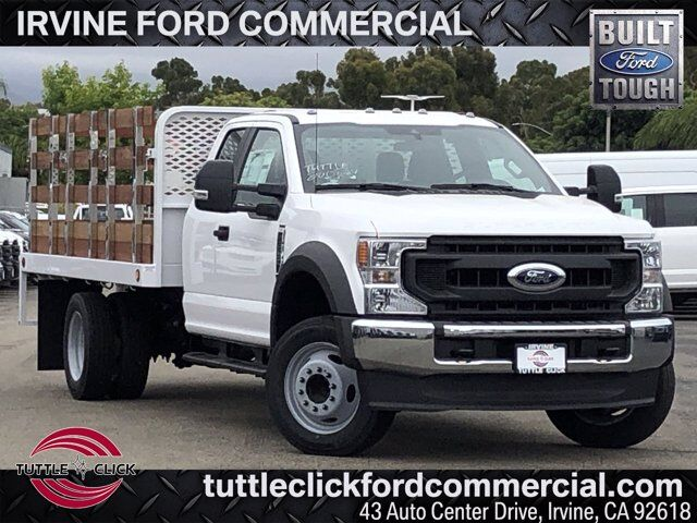 2020 Ford Super Duty F-550 DRW XL Scelzi 12' Stake Bed Diesel Irvine CA