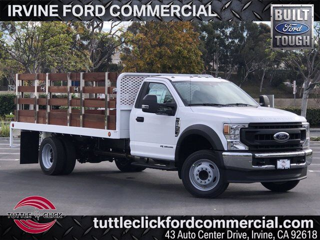 2020 Ford Super Duty F-550 DRW XL Scelzi 14' Stake Bed Diesel Irvine CA